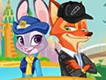 Zootopia Nick and Judy Dress Up