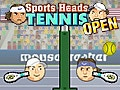 Sports Head: Tennis Open