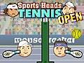 Sports Head: Tennis Open