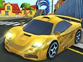 Cartoon Stunt Car